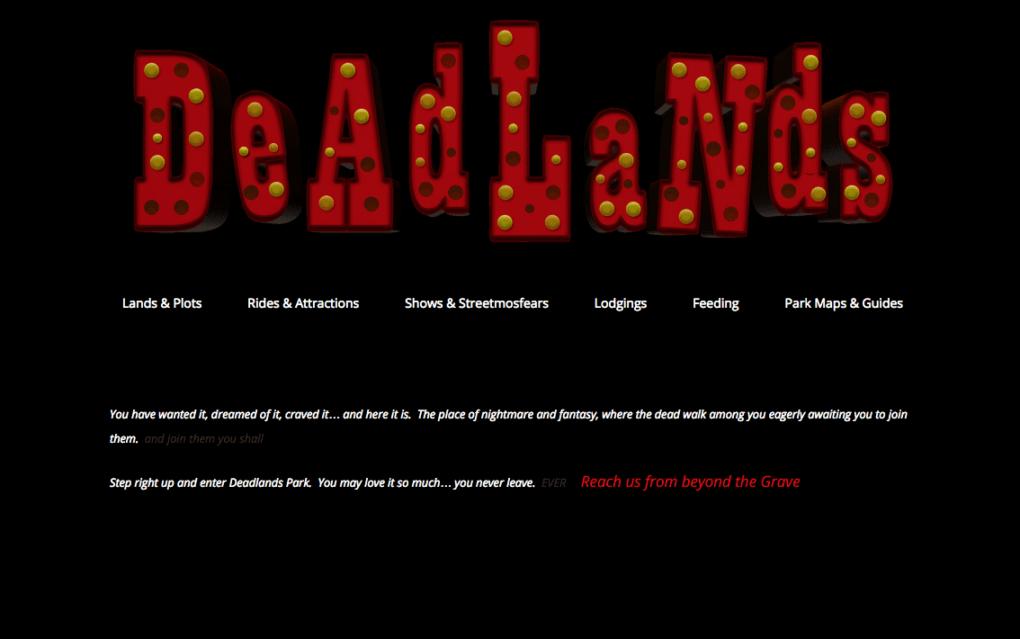 Deadlands Park logo